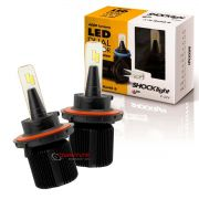 Kit de lâmpadas LED Dual Color Headlight Shocklight  tipo xenon H13 25W ilumina branco e amarelo