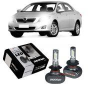 Kit Ultra LED Corolla 2008 2009 2010 2011 tipo xenon farol baixo H7 50W