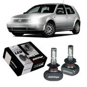Kit Ultra LED Golf nacional 1999 2000 2001 2002 2003 2004 2005 2006 tipo xenon farol baixo H7 50W