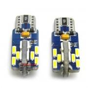 Lâmpada LED T10 Pingão 24 leds super branca Shocklight SLL 1200