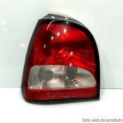 Lanterna traseira Gol Bola GTI 1995 1996 1997 1998 1999 bicolor lado direito
