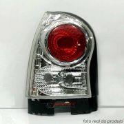 Lanterna traseira Gol G4 2006 até 2014 cristal lado esquerdo