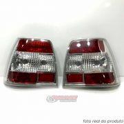 Lanterna traseira Monza Chevrolet 1991 1992 1993 1994 1995 1996 cristal (PAR)