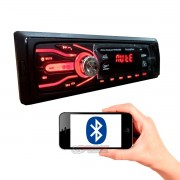 MP3 Automotivo First Option 5566 com Bluetooth e 2 entradas USB