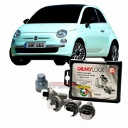 Parafuso antifurto para rodas Galaxy Lock Fiat 500 A1C/M
