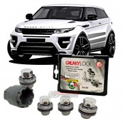 Porca antifurto para rodas Galaxy Lock Range Rover Evoque 2011 até 2020 HA4/M