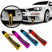 Tow Strap cinta para reboque decorativa amarela TS4000