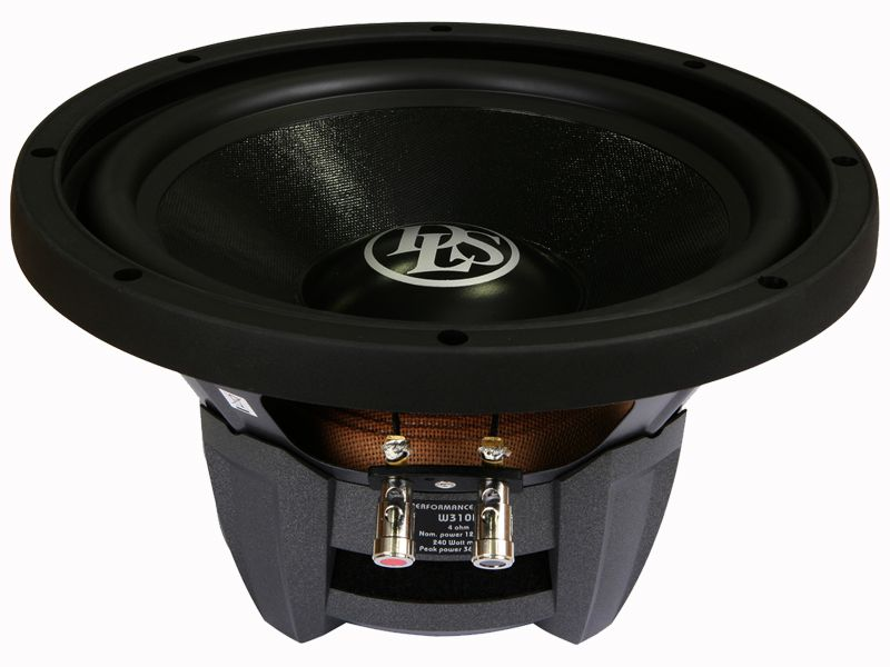 """Alto falante 10"""" DLS Subwoofer Performance Series W310D (120WRMS)"""
