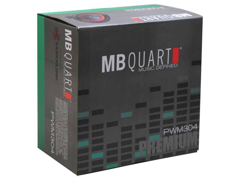 "Alto falante 12"" MB Quart Subwoofer Série Premium PWM304 (500WRMS)"