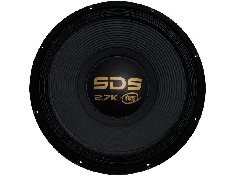 """Alto falante 15"""" Eros Woofer E15 SDS 2.7K (1350 WRMS)"""