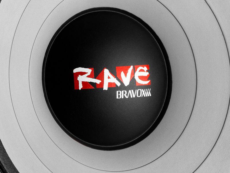 "Alto falante 18"" Bravox Woofer RAVE RV18 S4 (1100 WRMS)"