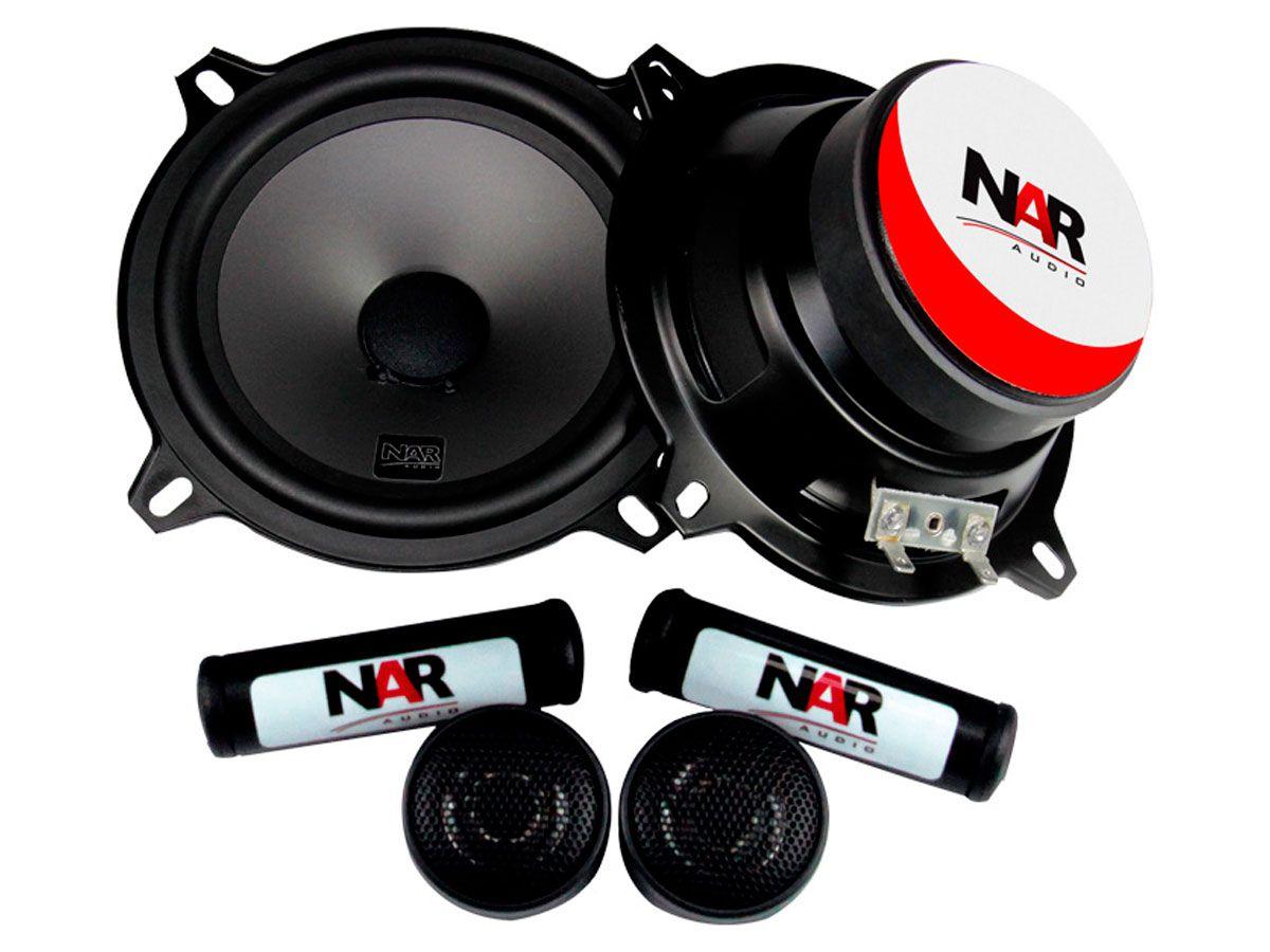 """Alto falante 5"""" NAR Kit 2 vias 525-CS1 (50WRMS) PAR"""