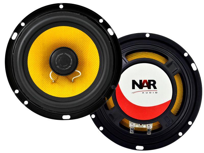 """Alto falante 6,5"""" NAR Coaxial Kevlar 600-CX3 (60WRMS) PAR"""