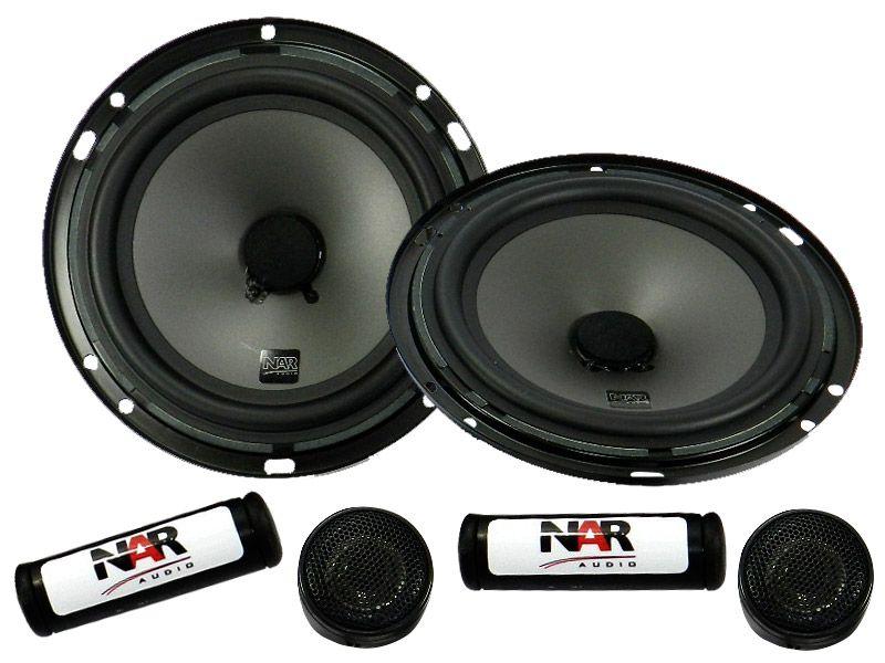 """Alto falante 6"""" NAR Kit 2 vias 600-CS1 (50WRMS) PAR"""
