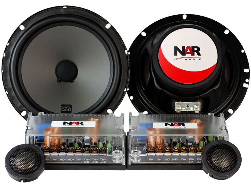 "Alto falante 6"" NAR Kit 2 vias 650-CS2 (55WRMS)"