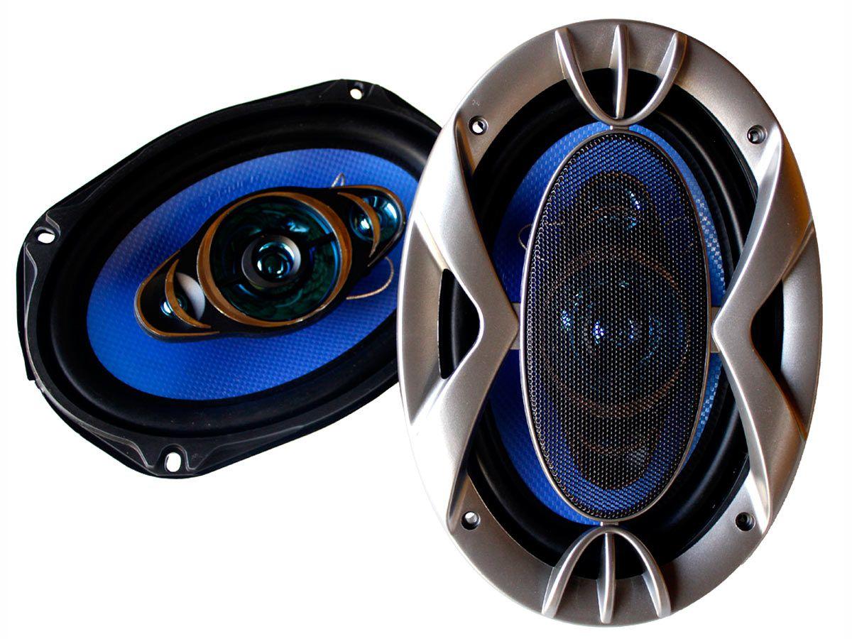 Alto falante 6x9 Quadriaxial com Tela (280WRMS) PAR
