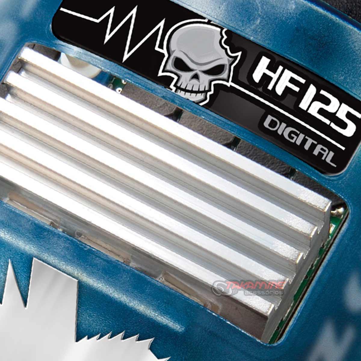 Amplificador HF125 RCA Corzus 1 canal mono digital 125WRMS