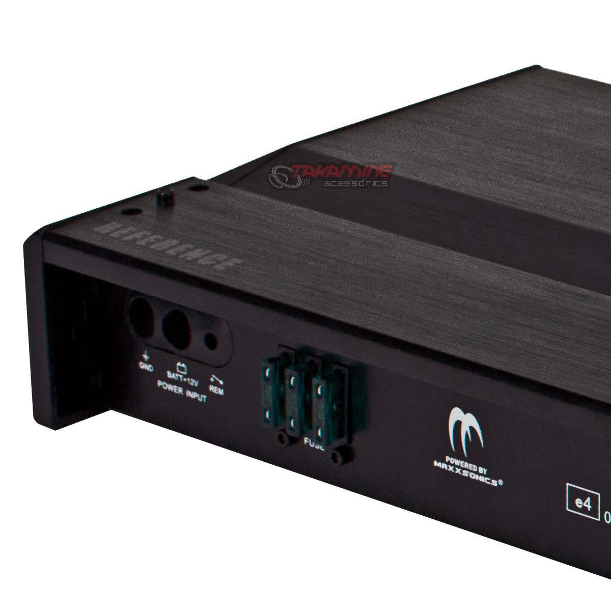 Amplificador RA1000.4 MB Quart 4 canais estéreo/mono 1000WRMS