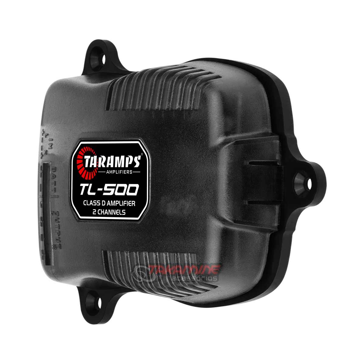 Amplificador Taramps TL500 2 canais digital + Mini Tweeter