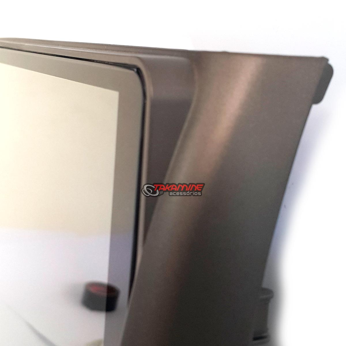 """Aparelho com tela 9"""" Fit 2004 até 2008 Taytech com bluetooth, espelhamento celular Android e IOS, entrada USB"""