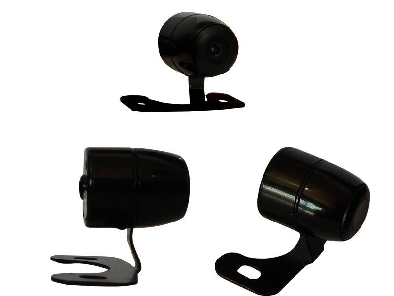 Câmera de ré universal Borboleta com suporte de fixação