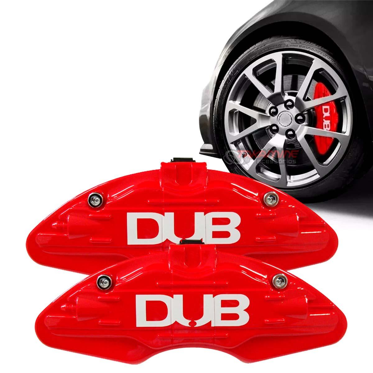 Capa pinça de freio DUB vermelho universal