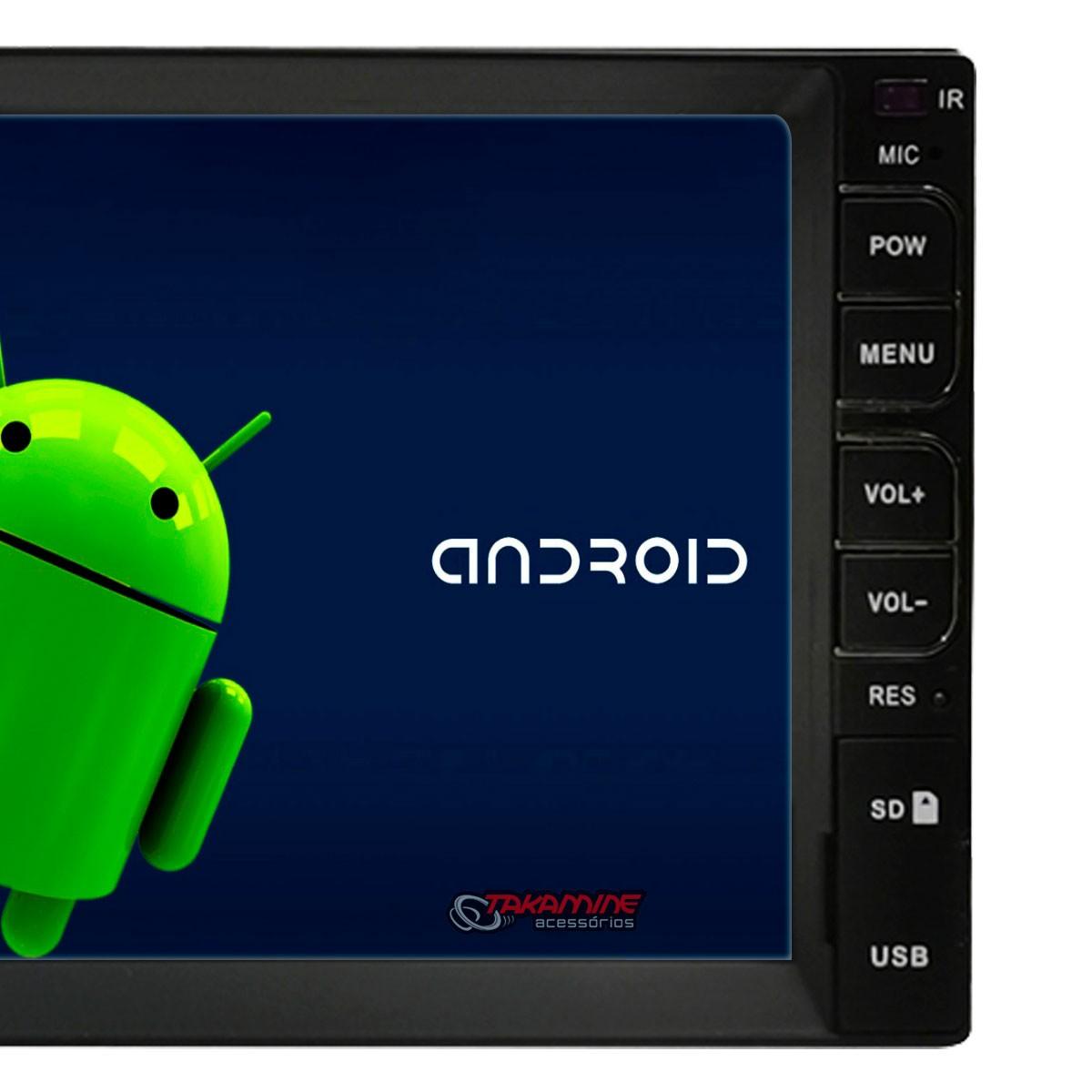 Central multimídia Taytech Android T100 Plus universal GPS, TV Digital e baixe aplicativos