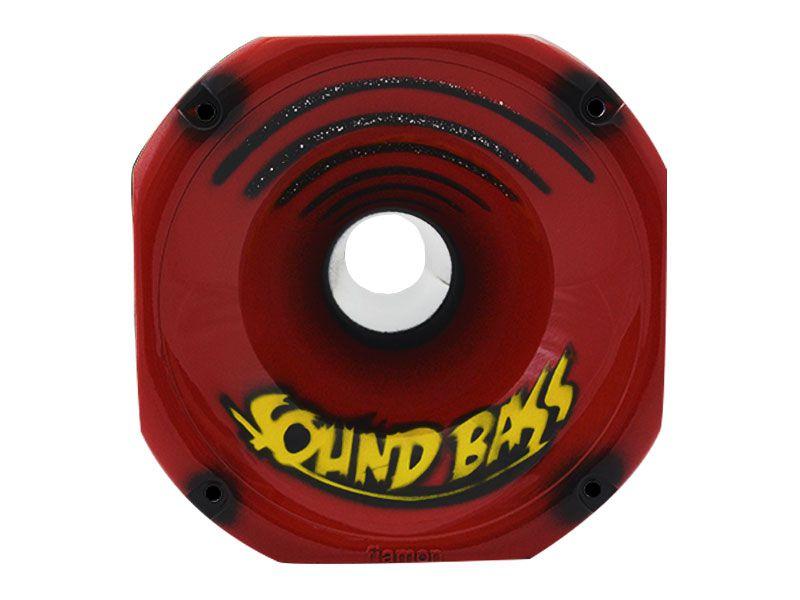 Cone de Corneta Grafitada Soundbass Vermelha 1450 (Curto)