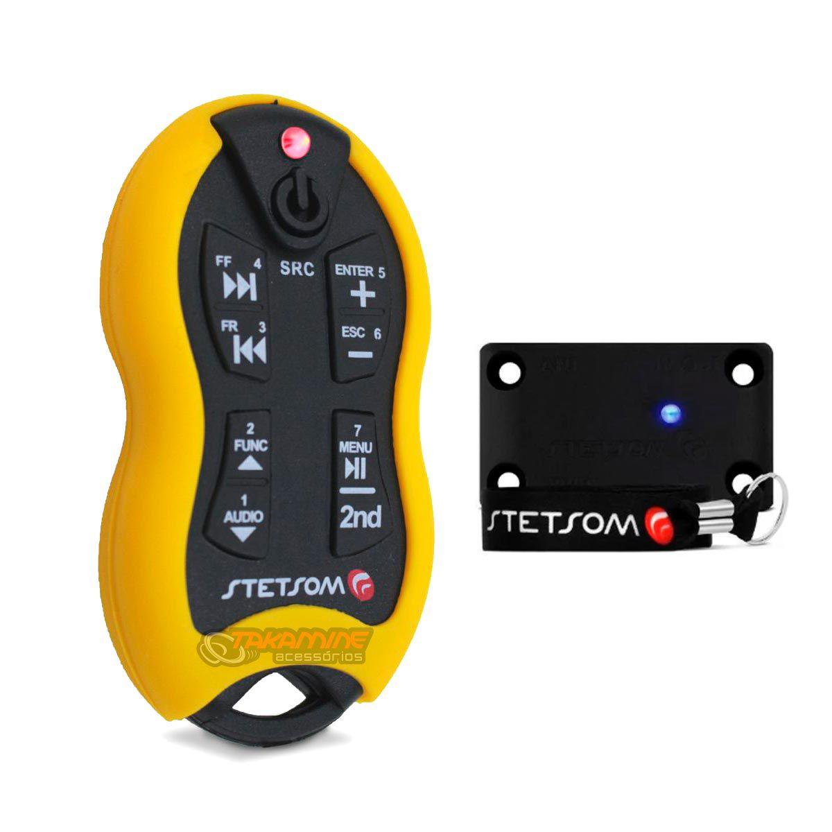 Controle longa distância Stetsom SX2 universal 500 metros