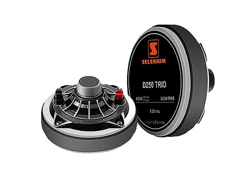 Driver Selenium D250 TRIO 200WRMS