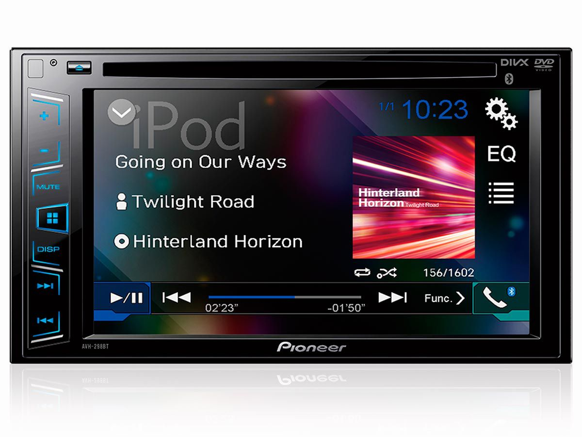 "DVD Player Pioneer AVH-298BT 6,2"" com Bluetooth"