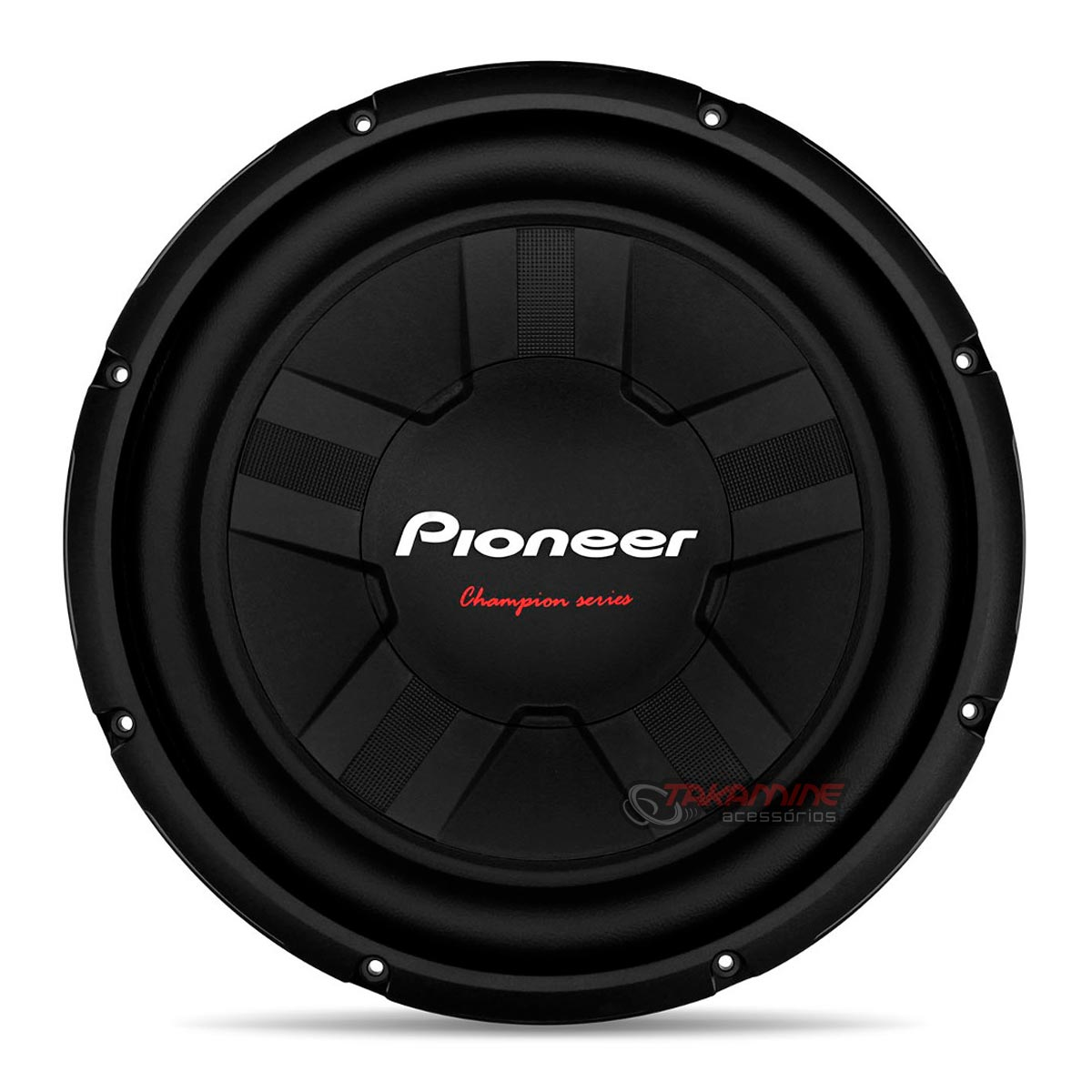 "Falante subwoofer Pioneer 12"" TS-W311S4 400WRMS Bobina Simples"