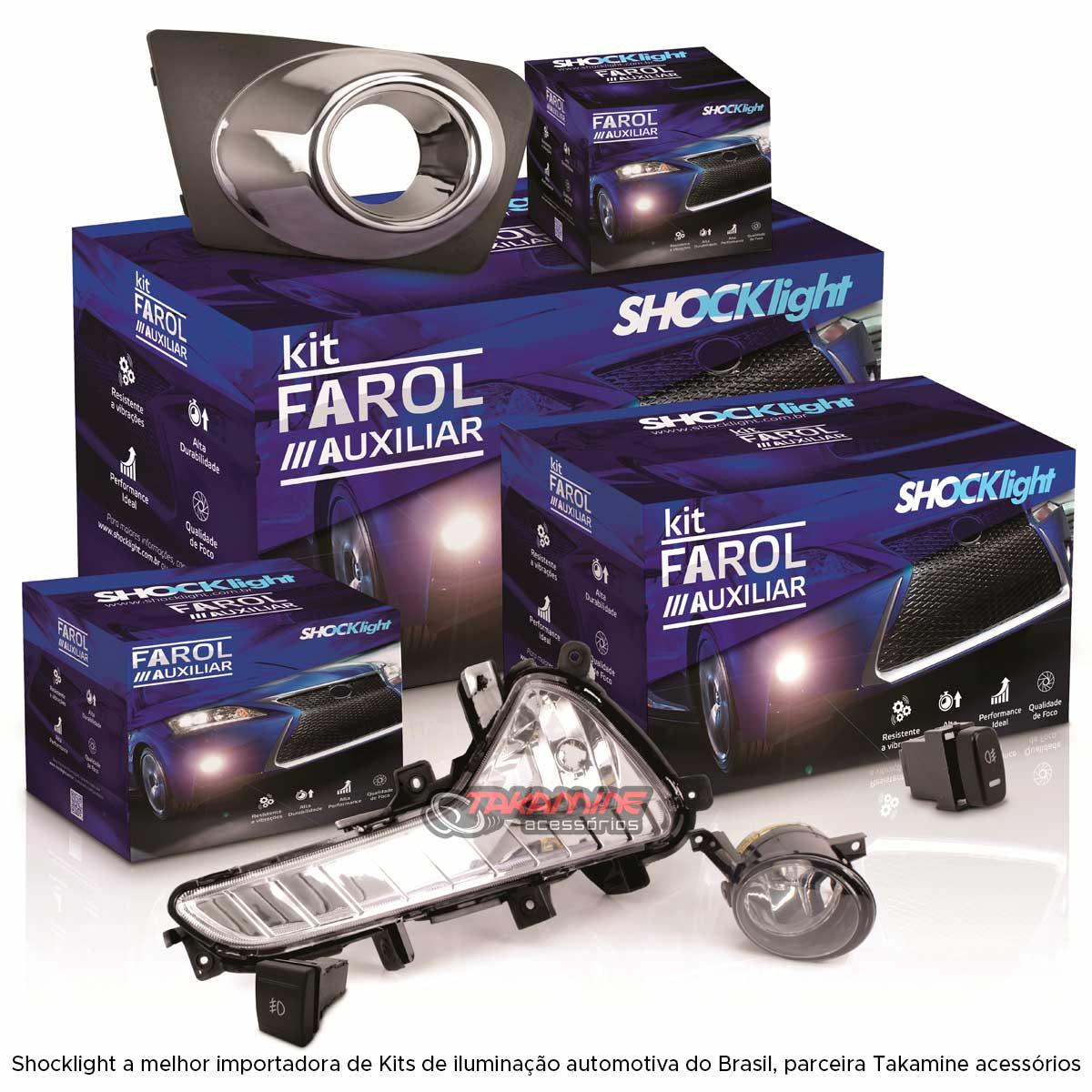 Farol milha Corsa 2000 2001 2002 Corsa Pickup 2000 2001 2002 Corsa Classic 2003 até 2010 botão modelo original