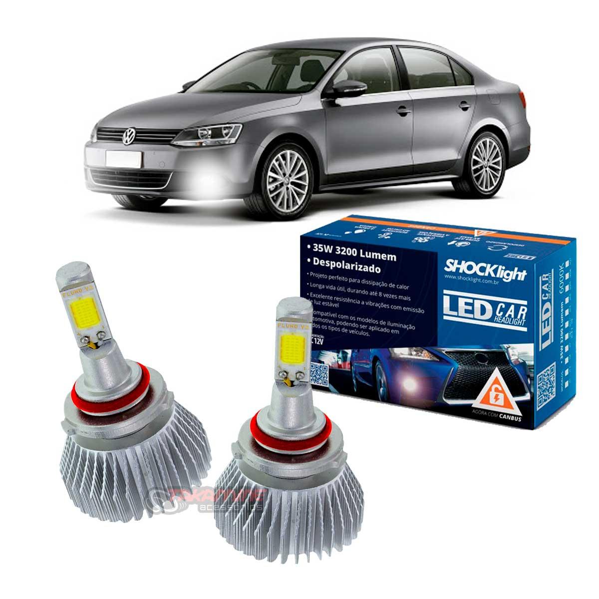 Kit LED Jetta 2007 2008 2009 2010 2011 2012 2013 2014 tipo xenon farol de milha HB4 35W Headlight