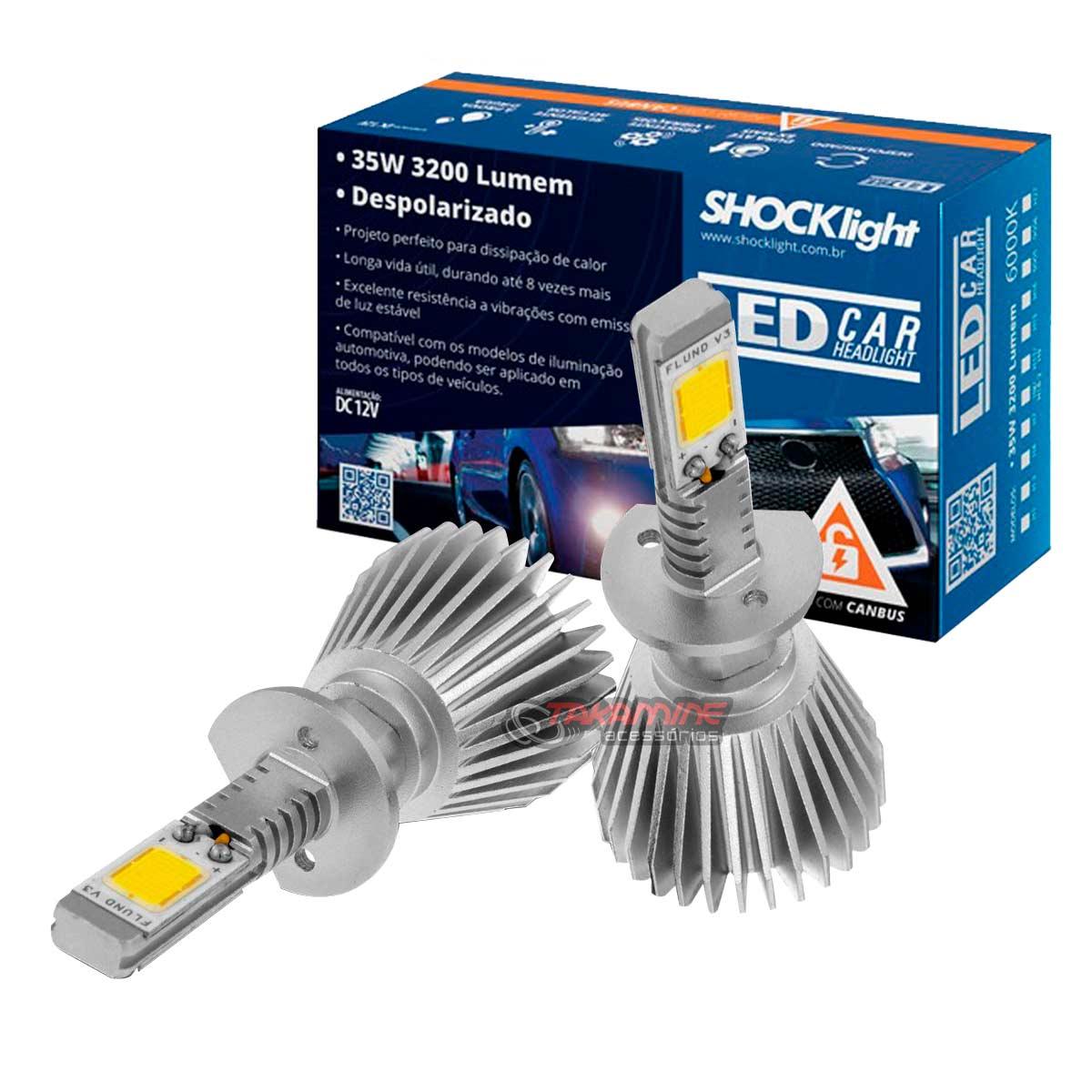 Kit LED 2D Headlight  tipo xenon modelo H1 35W