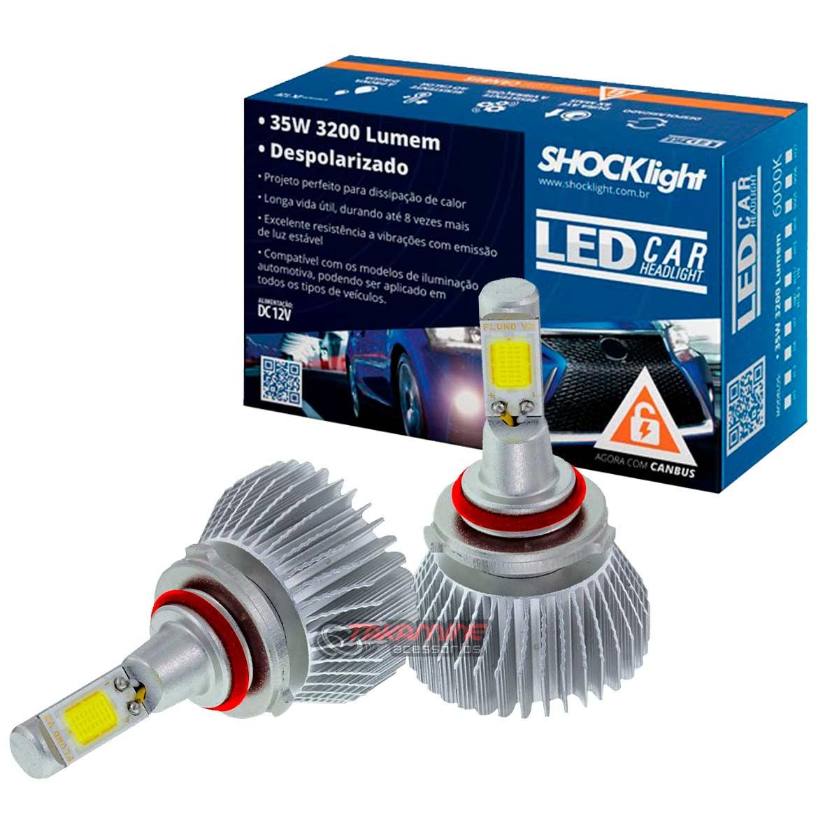 Kit LED 2D Headlight  tipo xenon modelo HB3 35W
