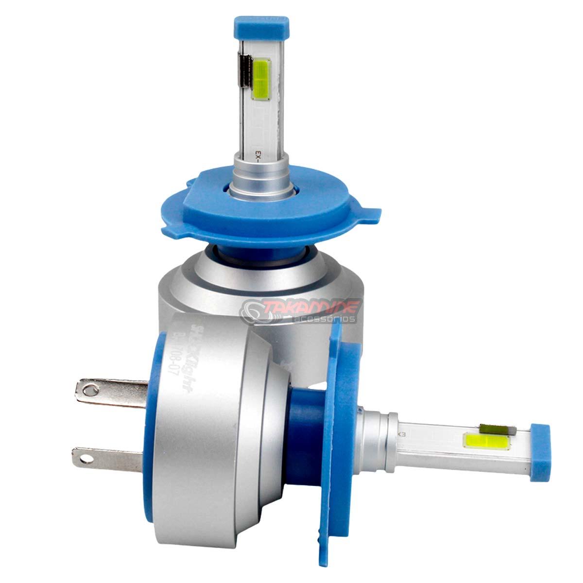 Kit LED Ford Ka 2012 até 2020 tipo xenon modelo H4 35W encaixe original plug & play New Headlight