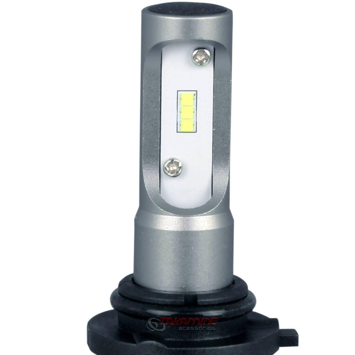 Kit Ultra LED Fox 2010 até 2020 tipo xenon farol de Milha HB4 50W