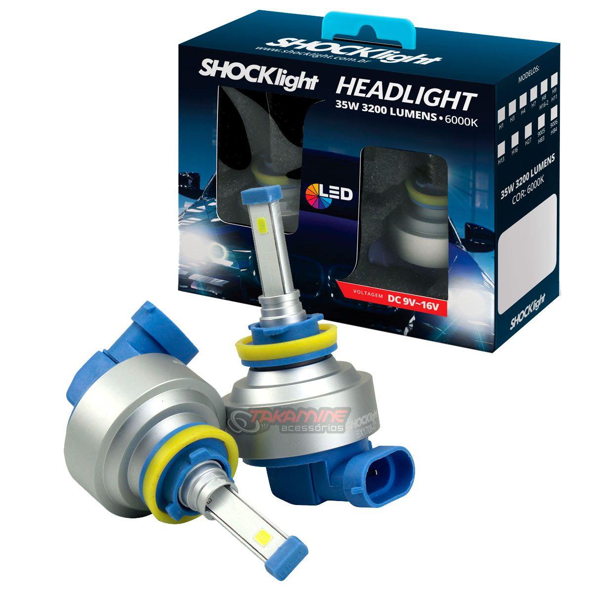 Kit LED tipo xenon modelo H11 35W encaixe original plug & play New Headlight