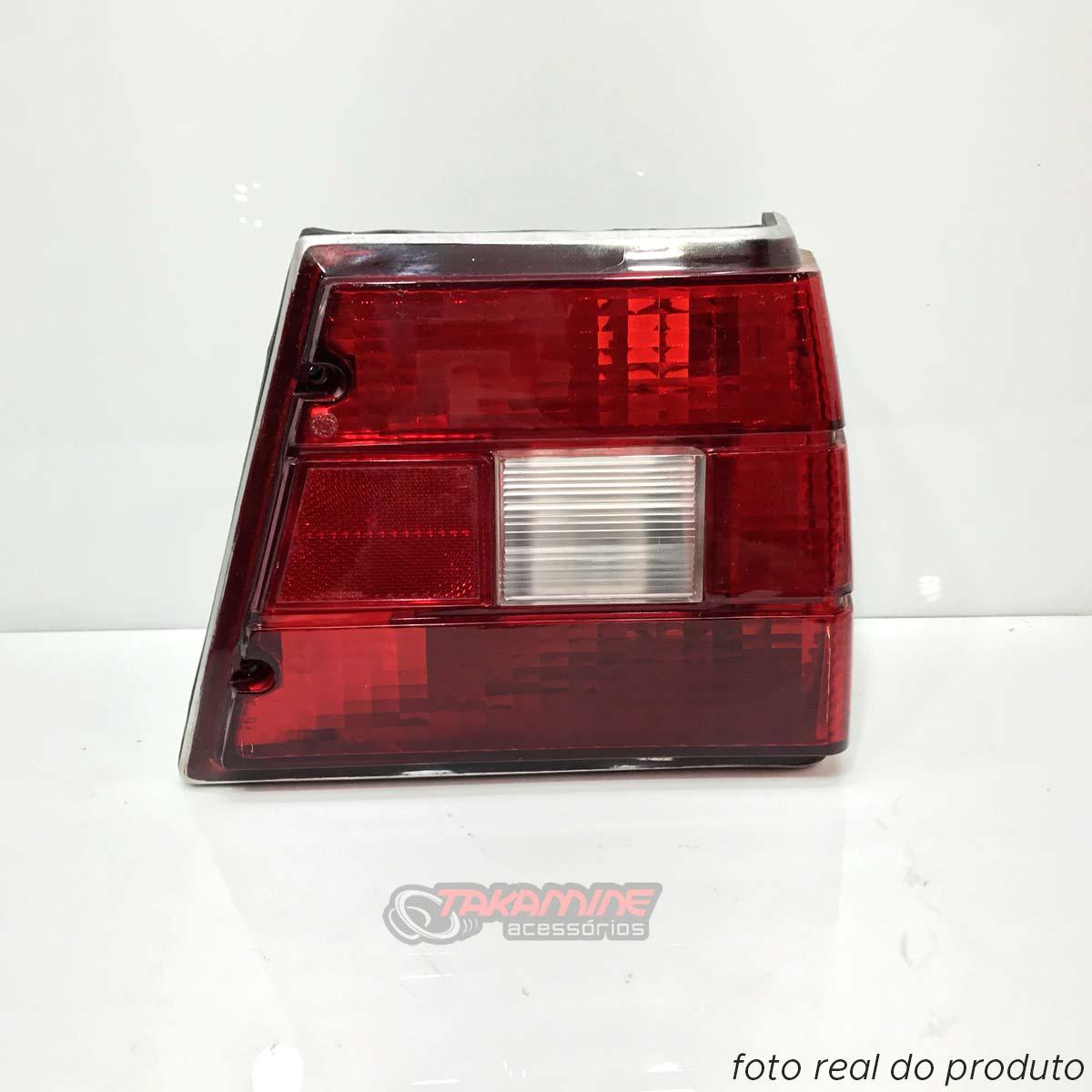 Lanterna traseira Caravan 1980 até 1992 bicolor lado direito
