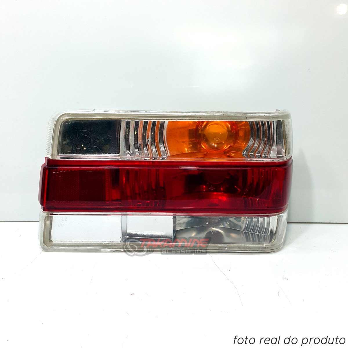 Lanterna traseira Chevette 1987 até 1993 Look 2000 cristal lado direito