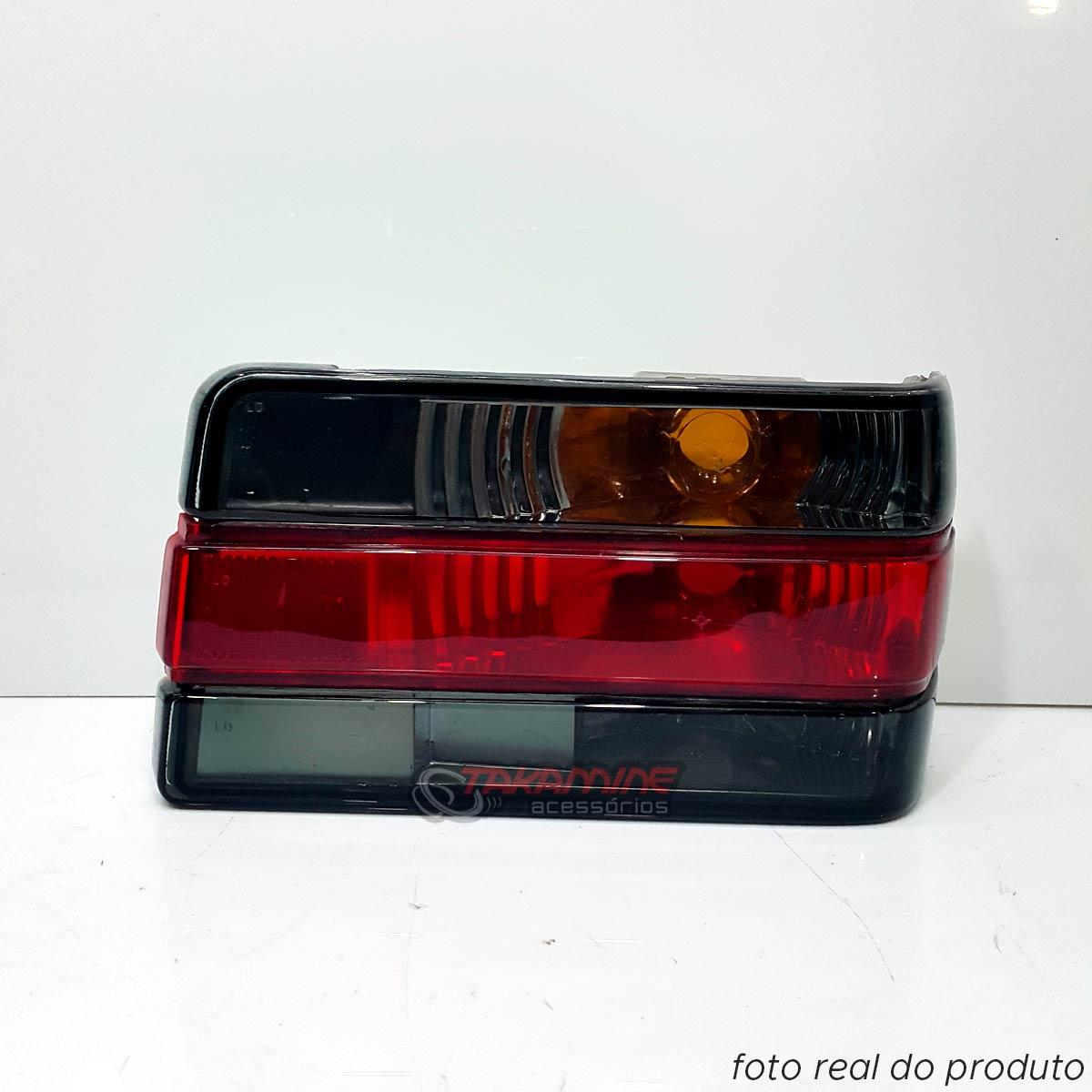 Lanterna traseira Chevette 1987 até 1993 Look 2000 fumê lado direito