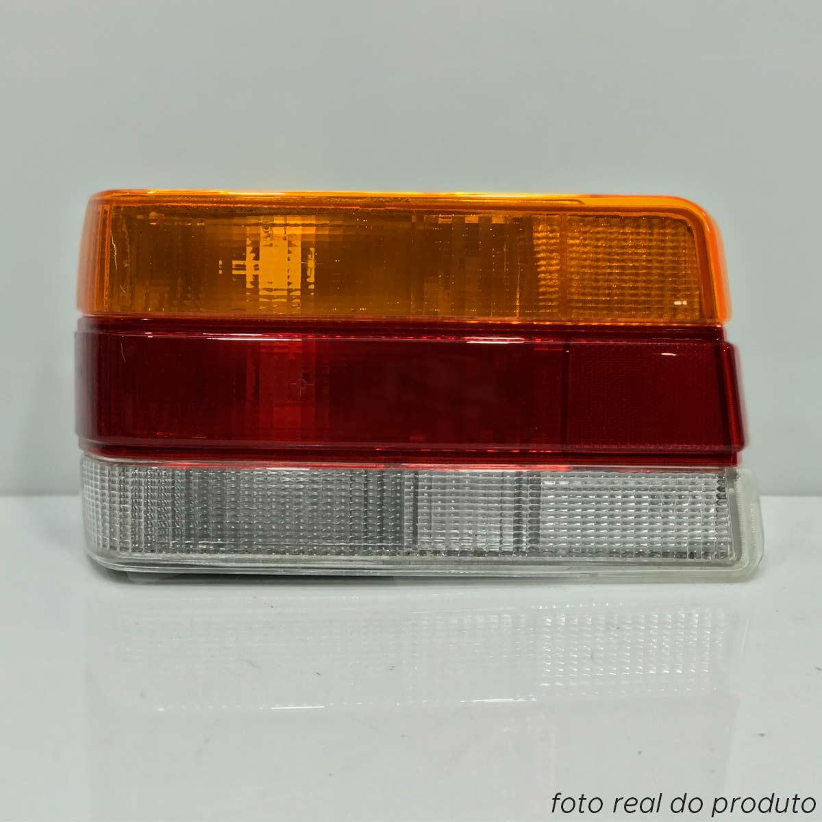 Lanterna traseira Chevette 1987 até 1993 tricolor lado esquerdo