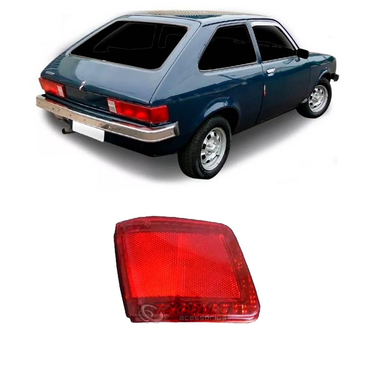 Lanterna traseira Chevette Hatch canto 1980 1981 1982 lado esquerdo