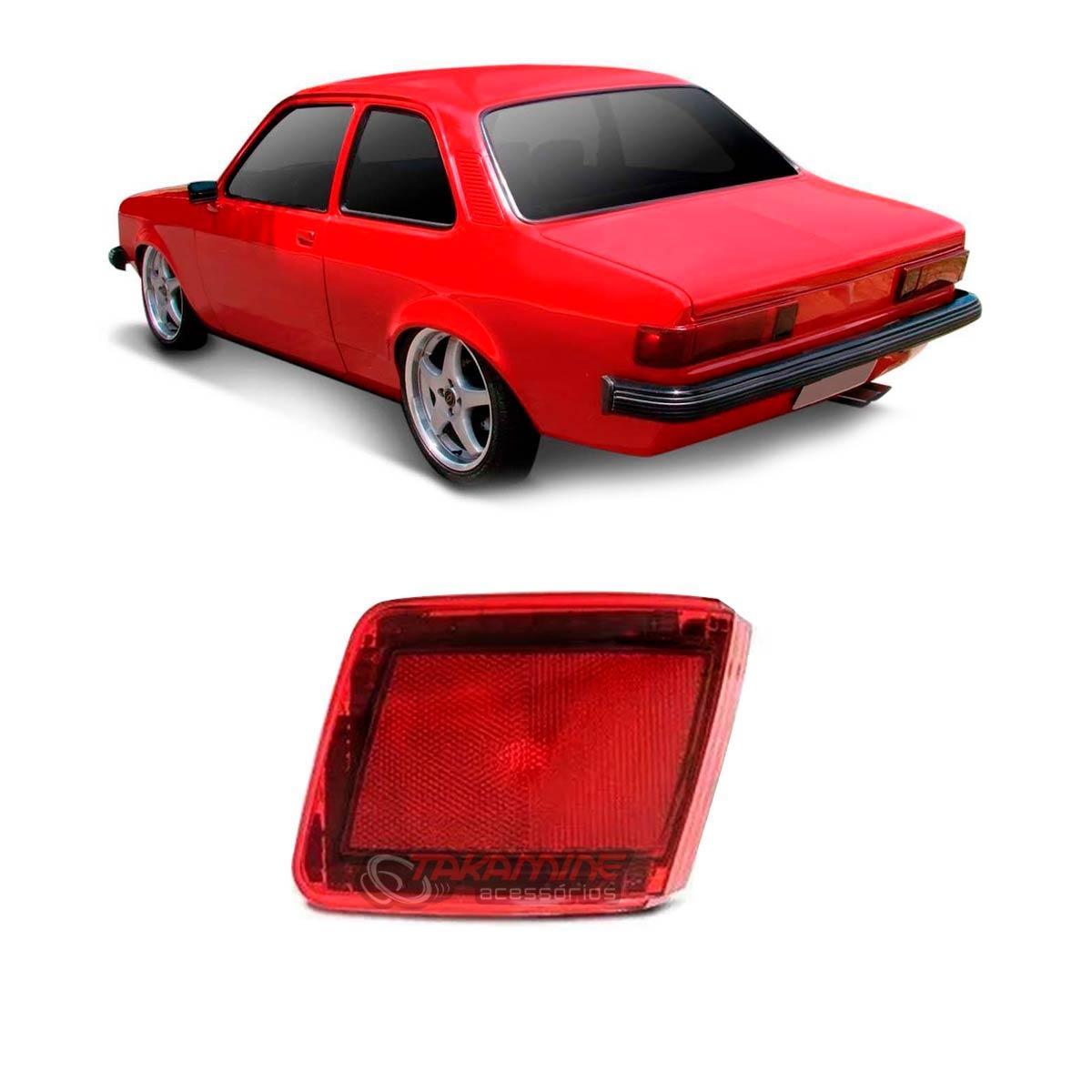 Lanterna traseira Chevette Sedan 1980 1981 1982 canto lado direito
