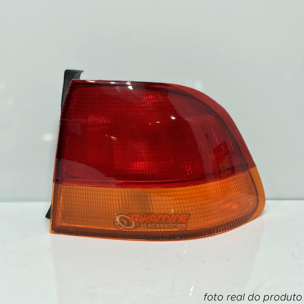 Lanterna traseira Civic 1996 1997 1998 bicolor LD