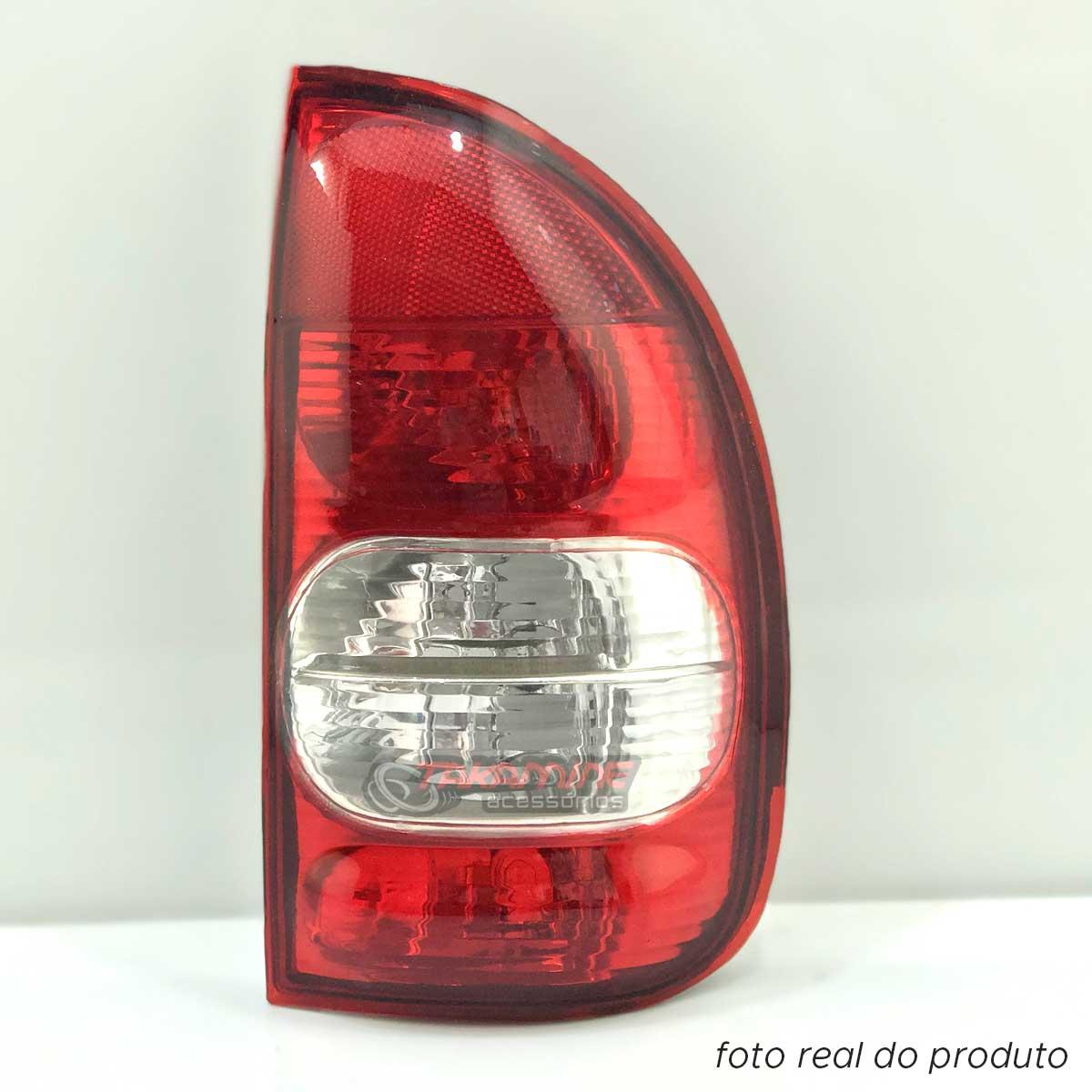 Lanterna traseira Corsa 4P 2000 2001 2002 2003 bicolor lado direito