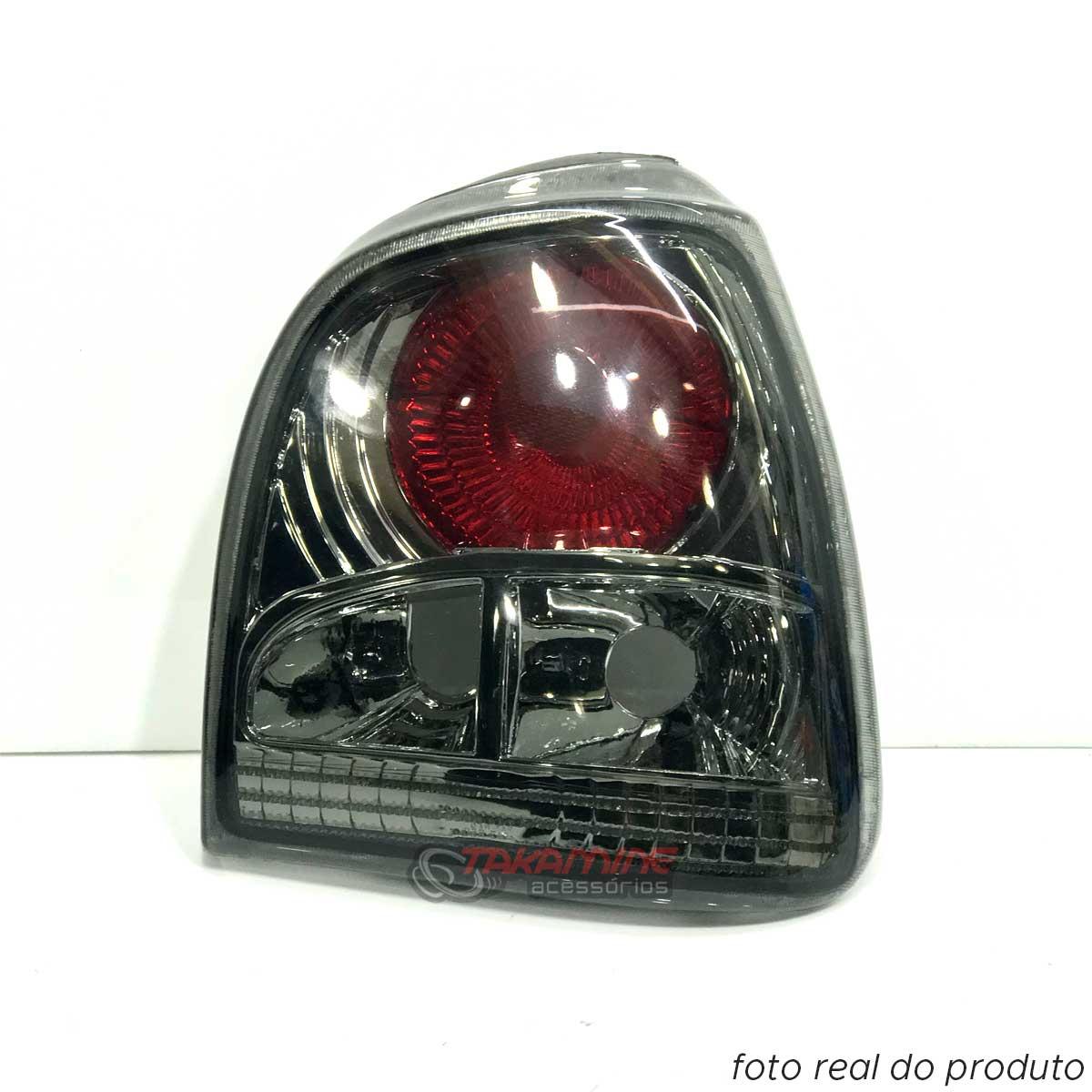 Lanterna traseira Gol Bola 1995 1996 1997 1998 1999 Evolution II fume modelo arteb lado direito