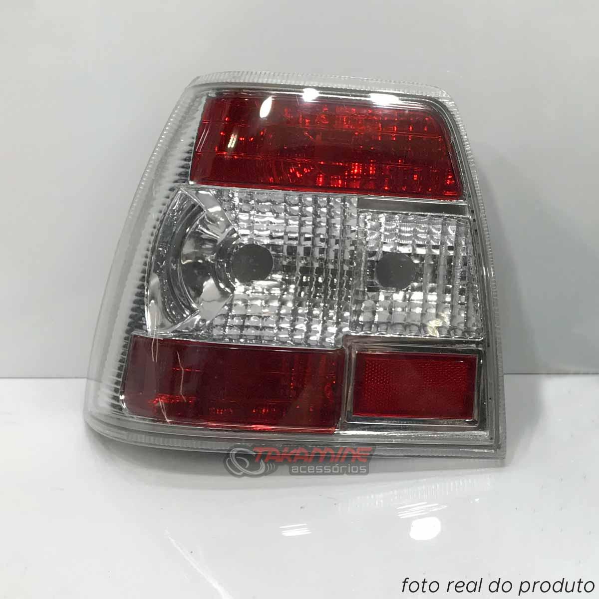Lanterna traseira Monza Chevrolet 1991 1992 1993 1994 1995 1996 cristal lado esquerdo