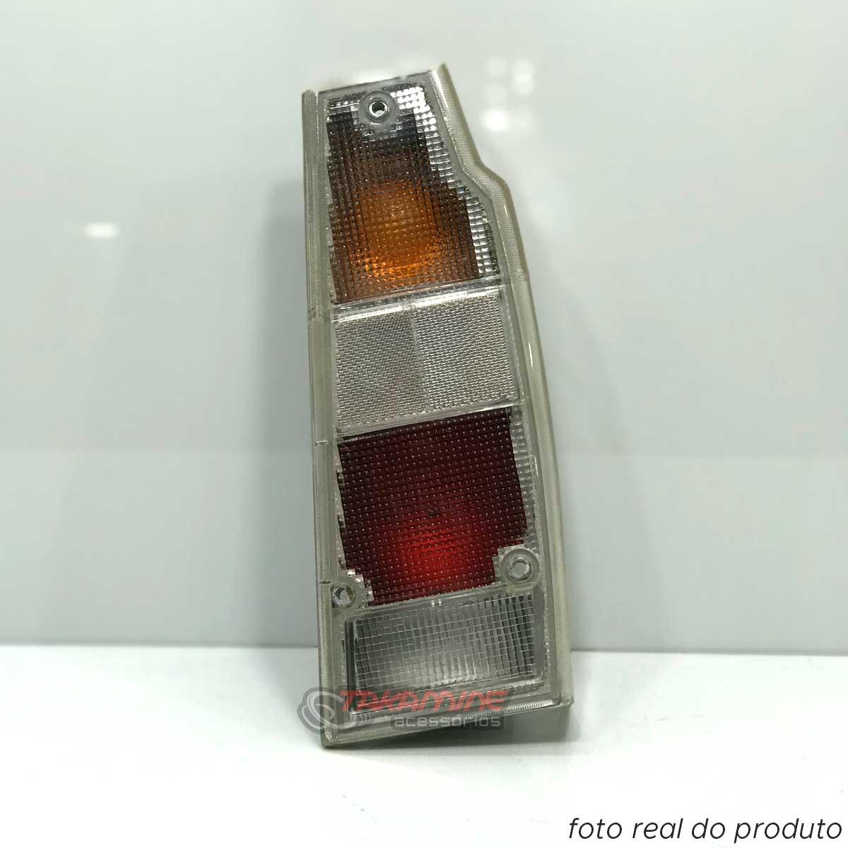 Lanterna traseira Parati 1987 até 1995 Saveiro 1987 até 1995 Cristal lado direito